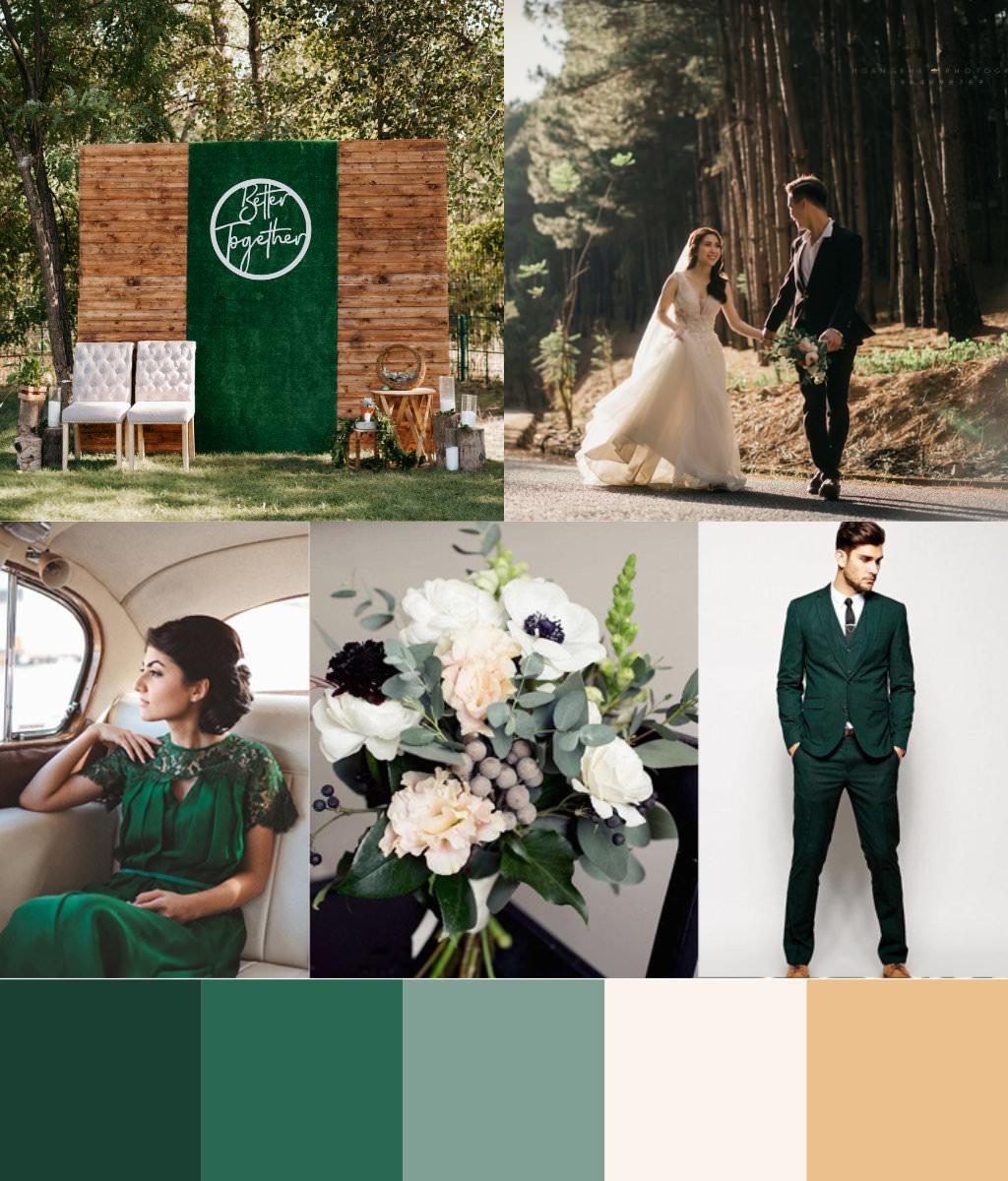 Forest Green Design palette