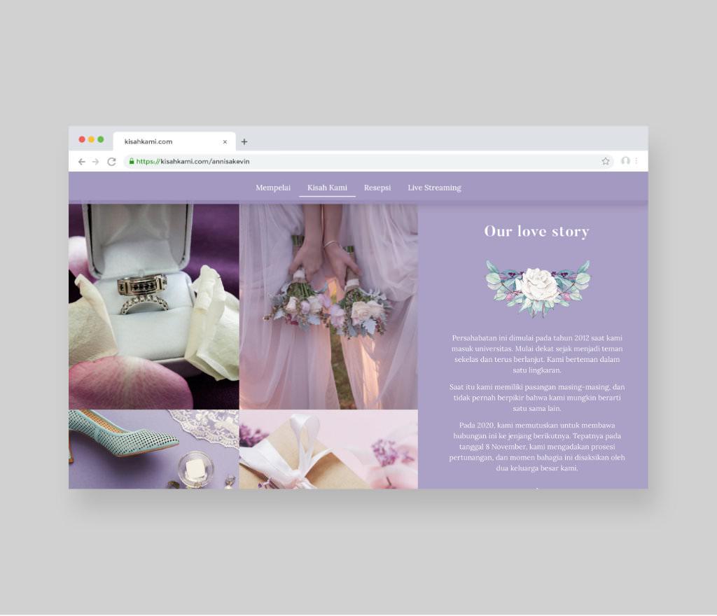 Pearl Lilac Design 5