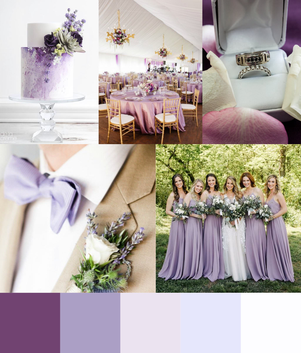 Pearl Lilac Design palette-