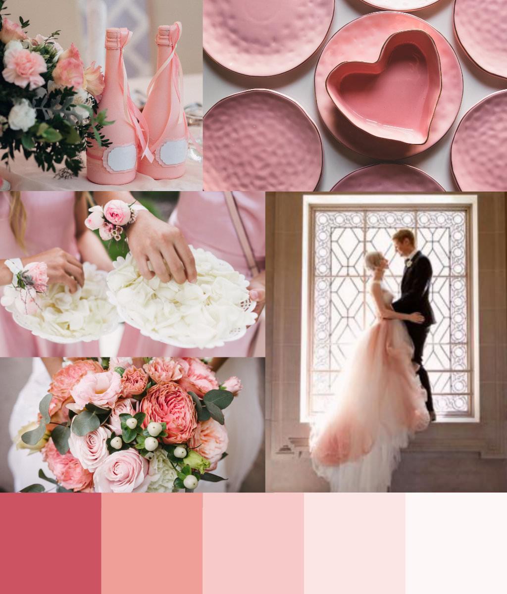 Rose Quartz Design palette