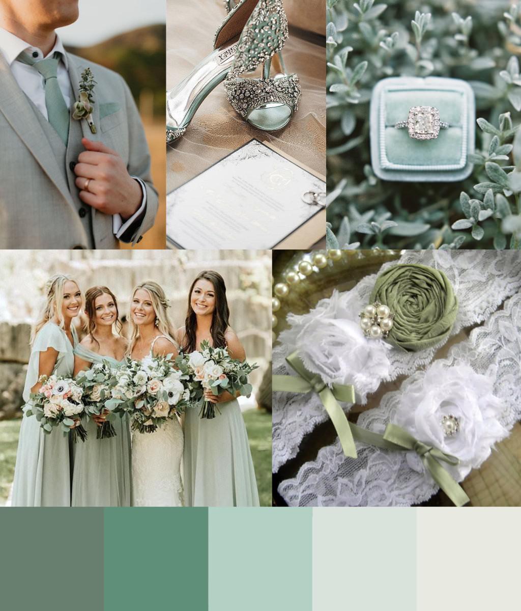 Sage Green Design palette